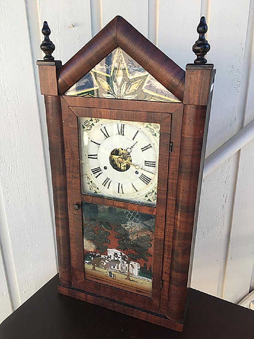 Seth Thomas OG Steeple Top Shelf Clock