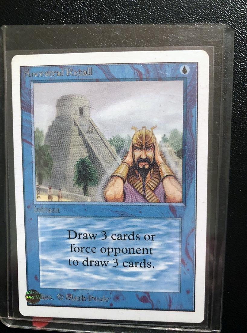 MTG Ancestral Recall Card