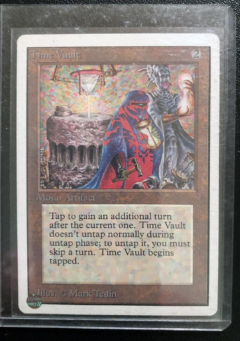 MTG Time Vault Card