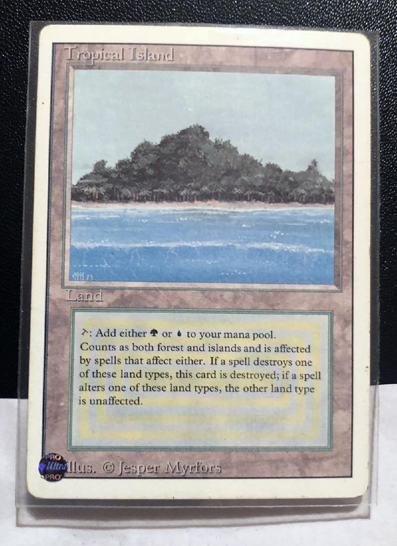 MTG Tropical Island Card