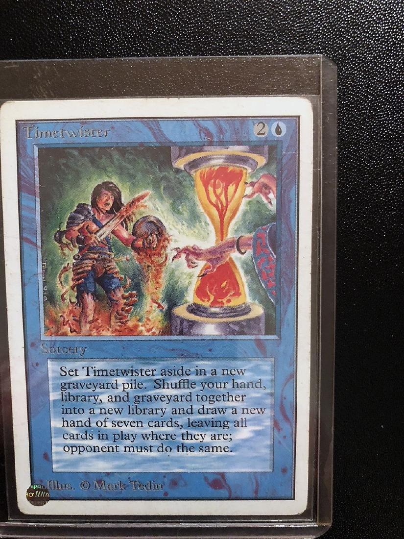 MTG Timetwister Card