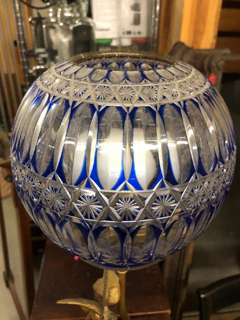Victorian Newel Post Lamp - 3