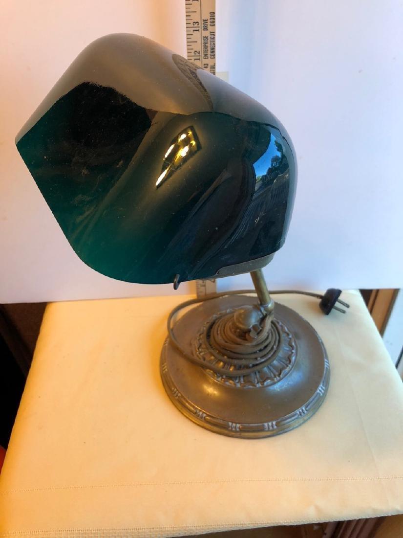 Emeralite Brass Desk Lamp