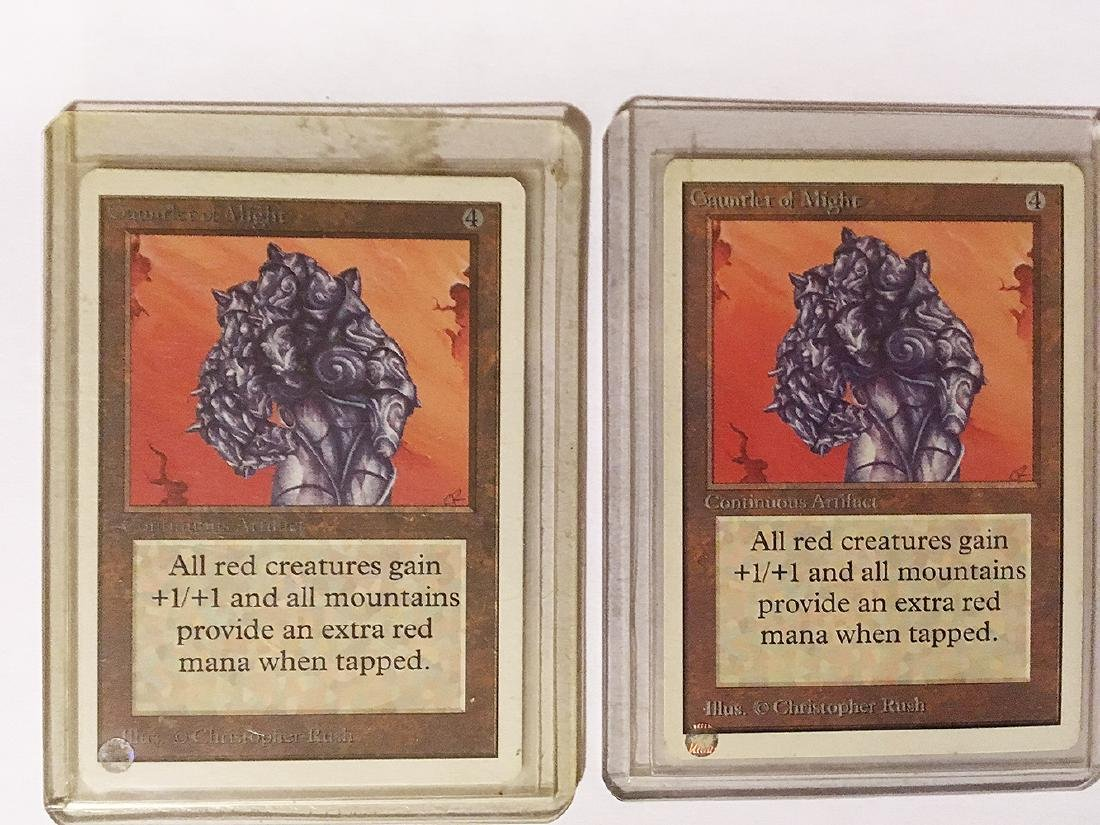 3 MTG Gauntlet of Mights Cards - 2