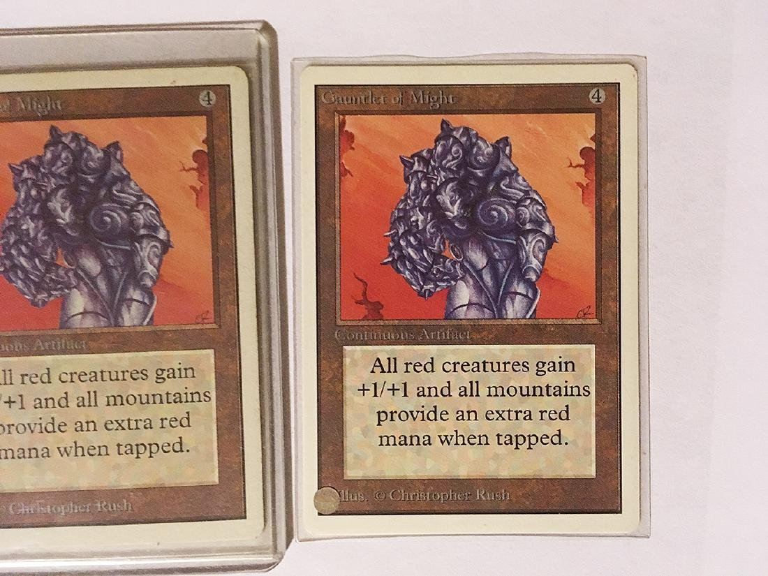 3 MTG Gauntlet of Mights Cards - 3