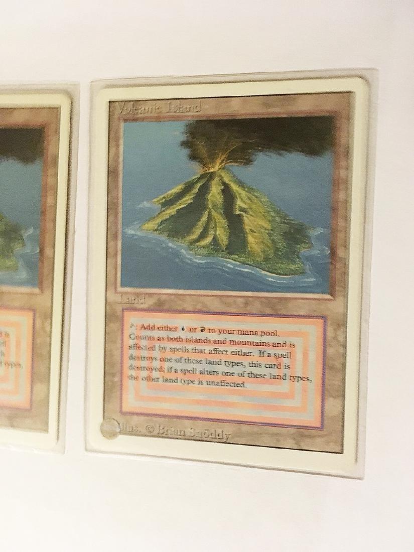 3 MTG Volcanic Island Cards - 3