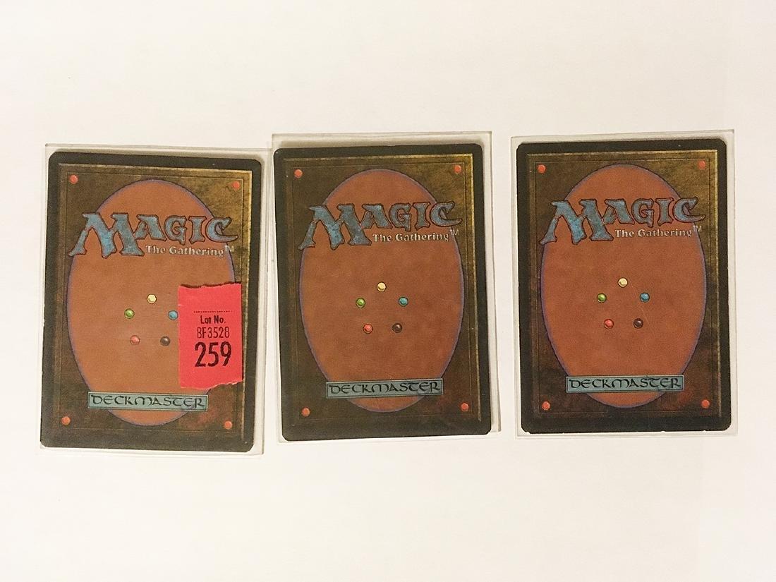 3 MTG Volcanic Island Cards - 4