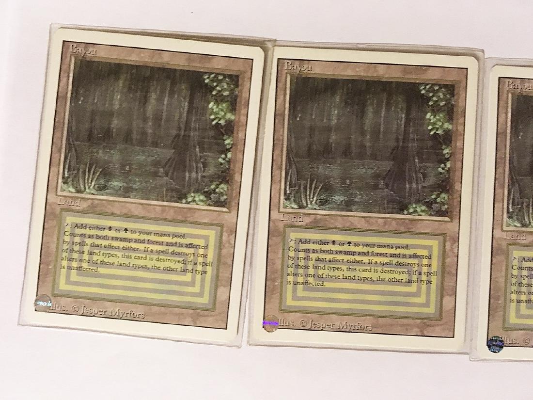 4 MTG Bayou Cards - 2