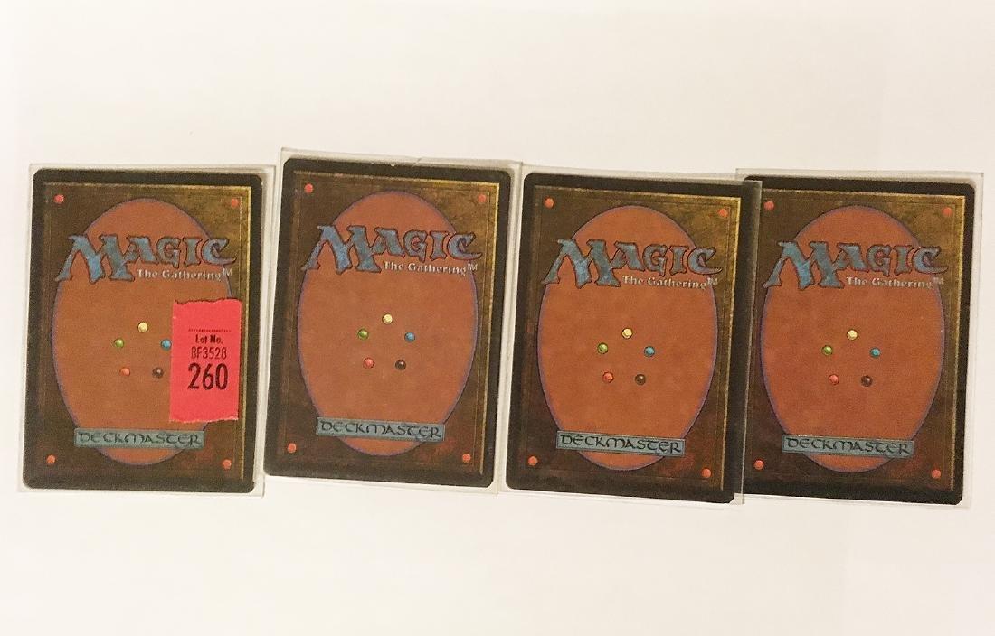 4 MTG Bayou Cards - 4
