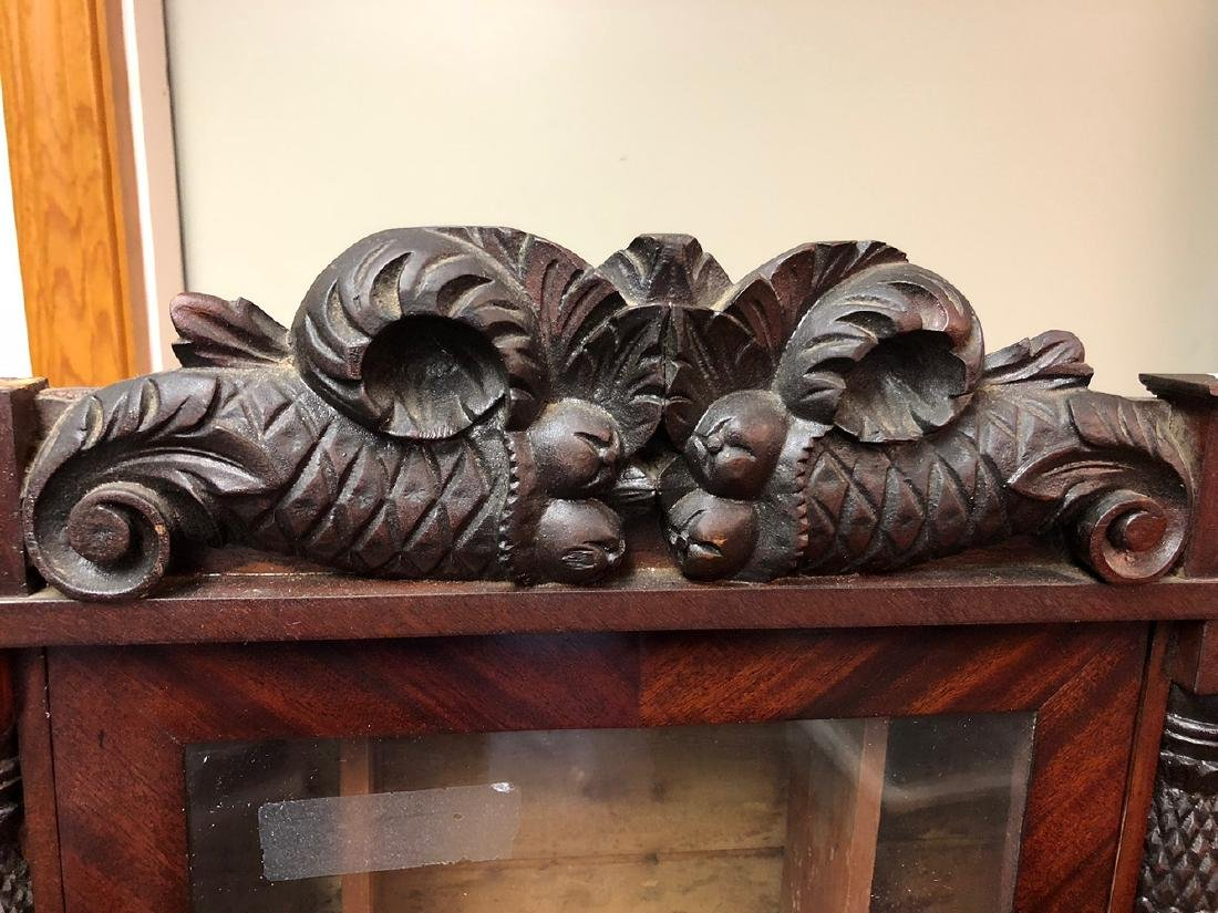 Hopkins and Alfred Carved Column Clock Case - 4