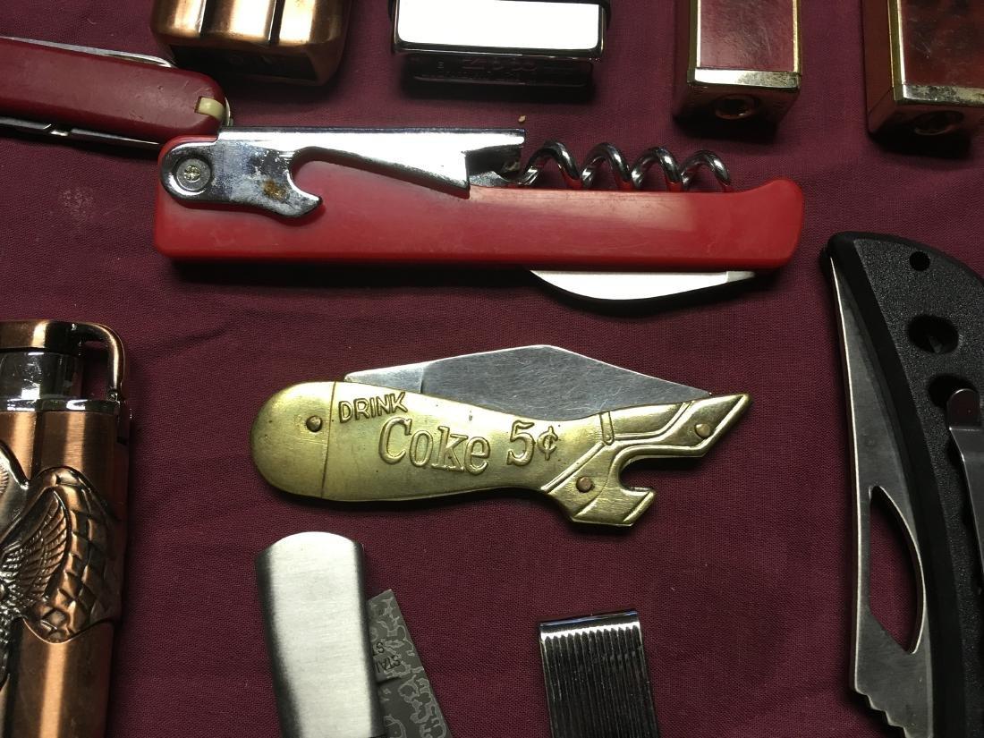 Estate Pocket Knives and Medals - 4