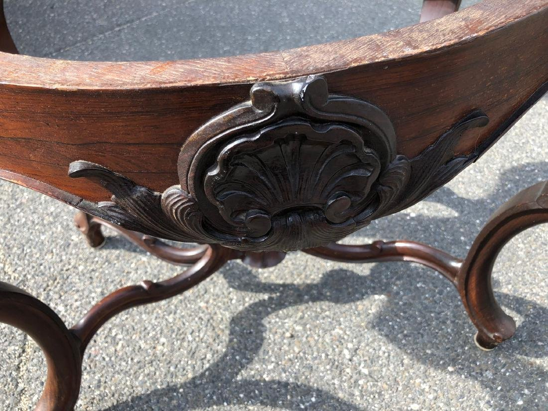 Victorian Rococo Rosewood Parlor Table - 6