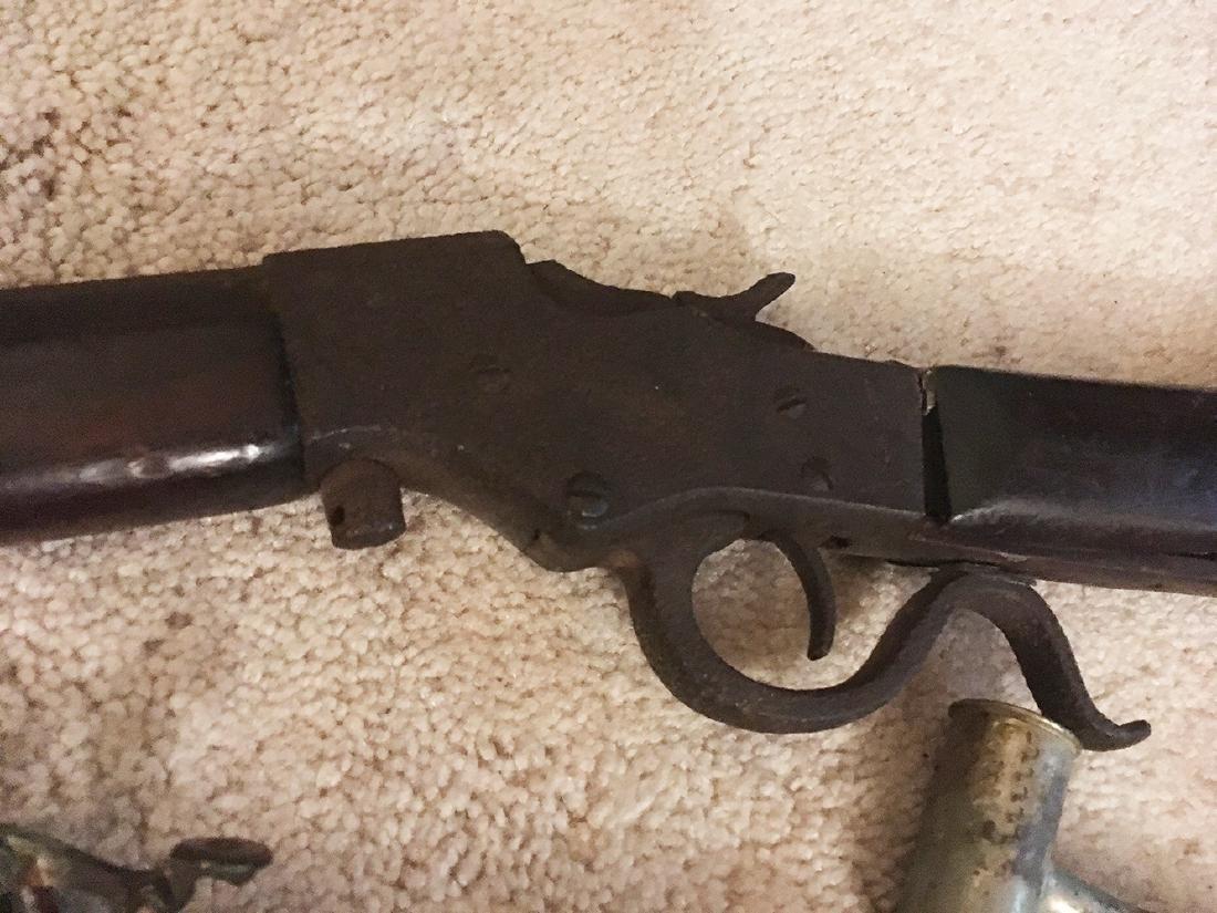 Squirrel Gun, Flasks, Powder Horns - 6