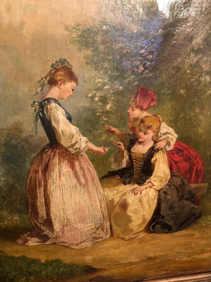 19th Century French Oil Painting, Fargonard - 2
