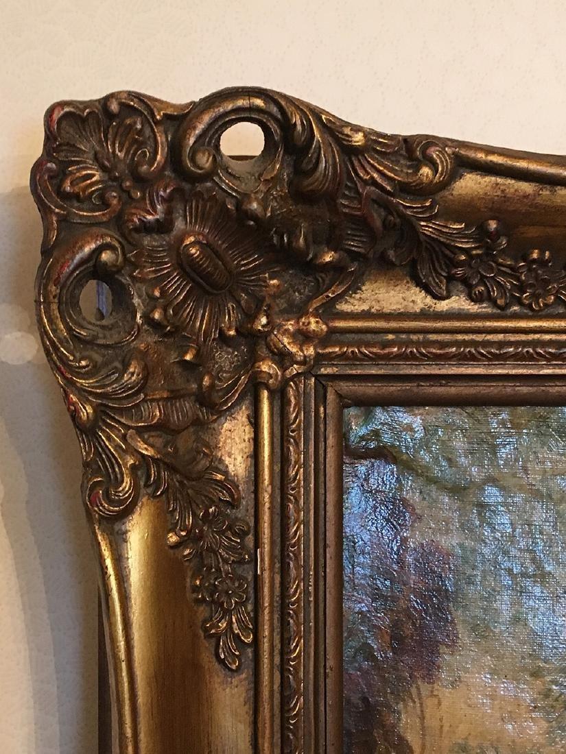 19th Century French Oil Painting, Fargonard - 3