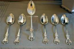 Old Colonial Sterling Silver Teaspoons