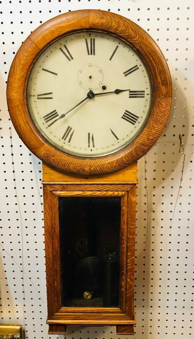 Seth Thomas No. 2 Railroad Regulator Clock
