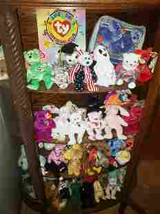 Collection of Ty Beanie Babies - St. Jude Children's