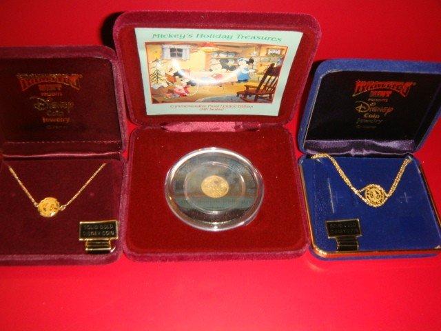 4: Mickey Mouse Proof fine gold 1/4 Troy oz., 14K Gold