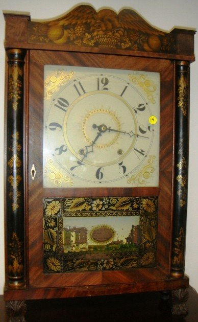 14: Eli Terry & Sons Plymonth, CT Ca 1828 30-hour time