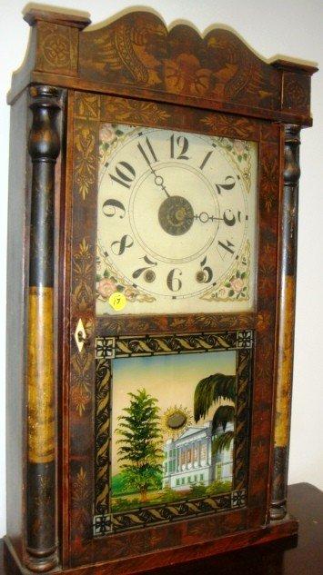 15: Hiram Welton, Terryville, CT Ca 1835 30-hour time p