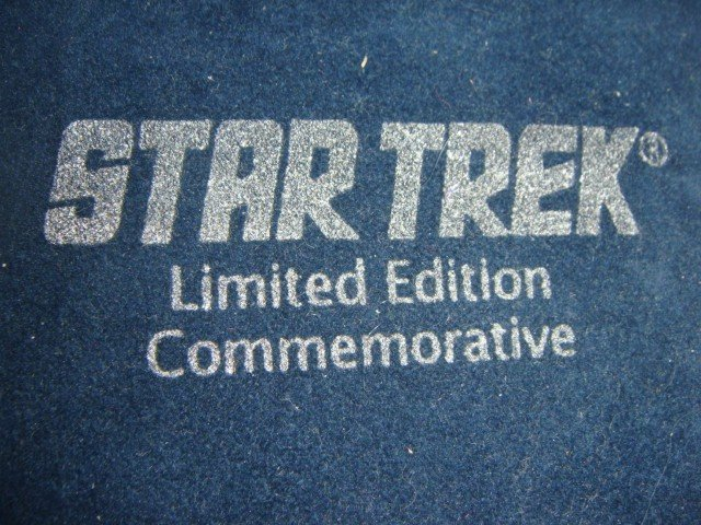"3: 7 Star Trek 1 Troy oz. each ""999"" fine silver, limi"