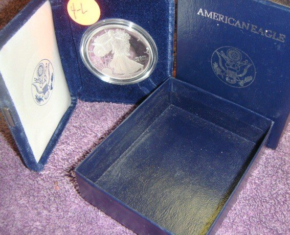 1994 American Eagle Silver Dollar Coin Proof