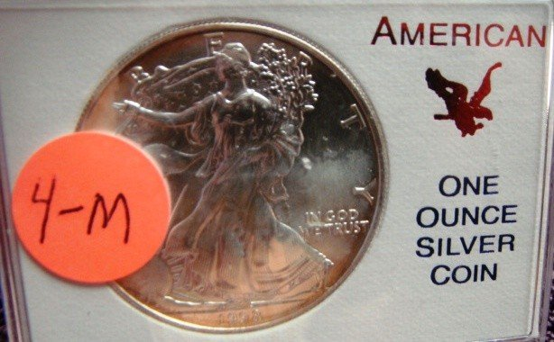 1998 American Eagle Silver Dollar Coin Proof