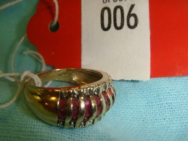 6: 14 K Gold Ring