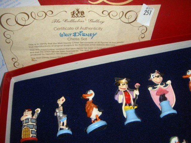251: Walt Disney Chess Set - 2