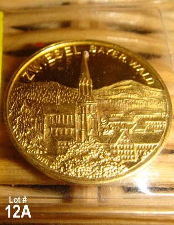 12A: Gold Coin Zwiesel Bayer. Wald - Germany