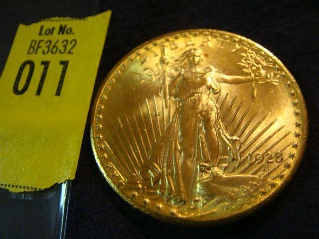 11: 1928 $20 Saint Gaudens Gold Coin