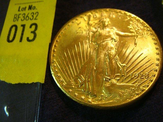 13: 1928 $20 Saint Gaudens Gold Coin