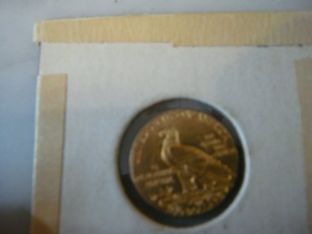 8A: 1913 Two and a Half Dollar US Gold Coin