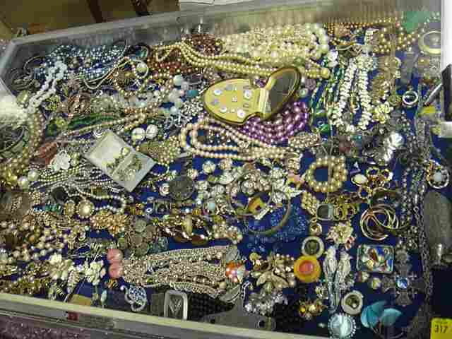 317: Huge Treasure Trove of Estate Jewelry