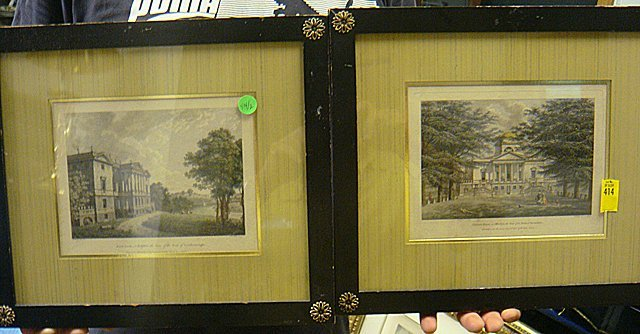 414: Hand Colored - Original Old Copper Plate Engraving