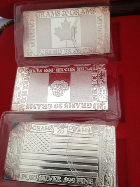 1: Silver Mint 1973 6 Piece .999 Silver Bars - 3