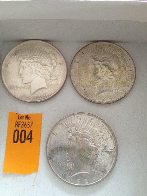 4: Three Silver Dollars
