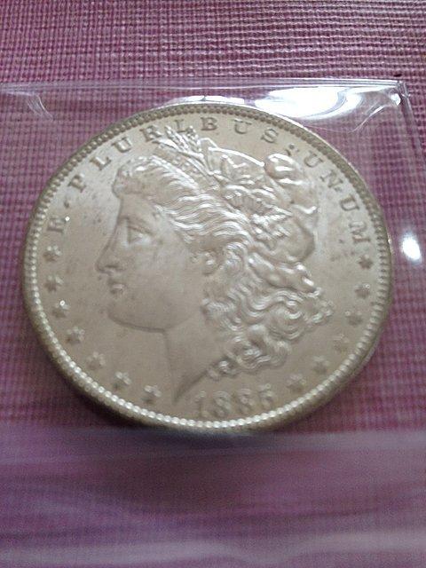 6: 1885-O Silver Dollar