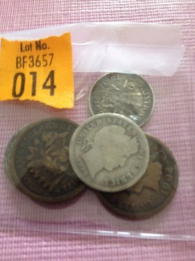 14: 5 Coins Lot
