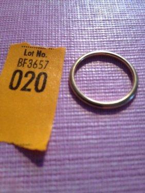 20: Estate 18 Kt. Gold Tiffany and Company Wedding Band