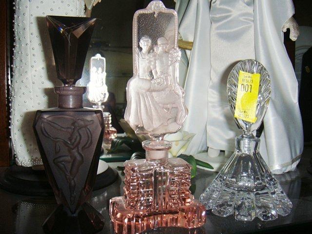 3 Perfume Bottles
