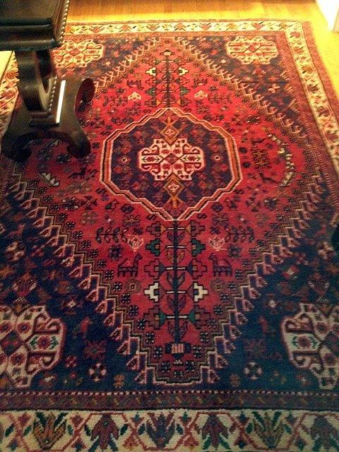 Beautiful Estate Hand Woven Abadagh Carpet 6' x 9'