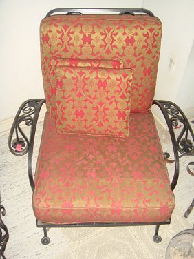 Estate Wrought Iron Chair