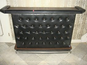 Estate Vintage Bar with Leather Padding