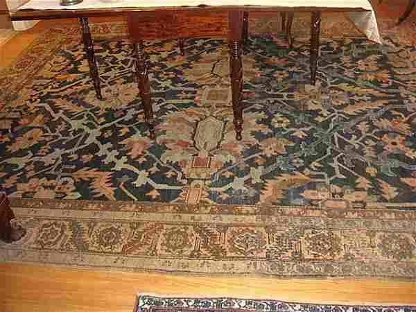 Estate Room Size Antique Persian Hamadan Hand Woven
