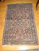 EstateAntique Persian Hamadan Hand Woven Rug