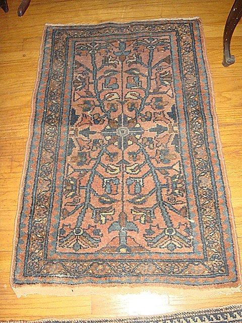 EstateAntique Persian Hamadan Hand Woven Rug