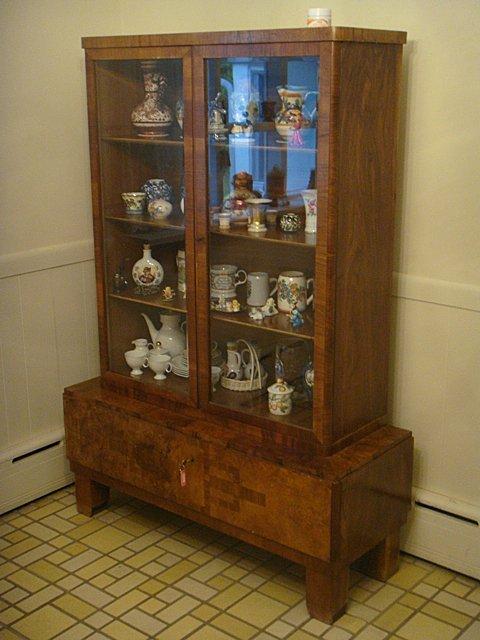 Estate Vitrine 2 Door Curio Cabinet