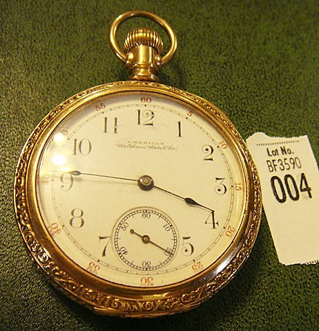 Antique American Waltham Co. Pocket Watch